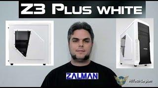 zalman Z3 PLUS White Unboxing and Review