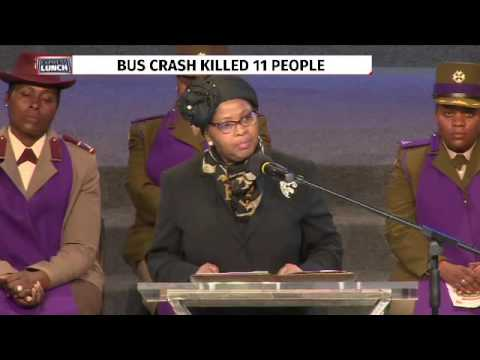 Minister Mapisa-Nqakula speaks at SANDF members memorial service