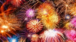 Взрывы крупнокалиберных салютов и мощных петард на новый год 2017! Тест и обзор петард