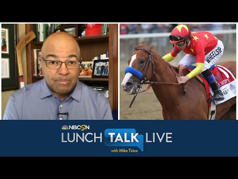 What Mike Smith anticipates out of order Triple Crown will feel like | Lunch Talk Live | NBC Sports