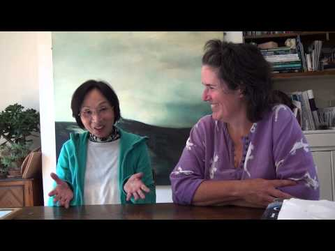 InTuition Students - Japanese lady talks with her host tutor