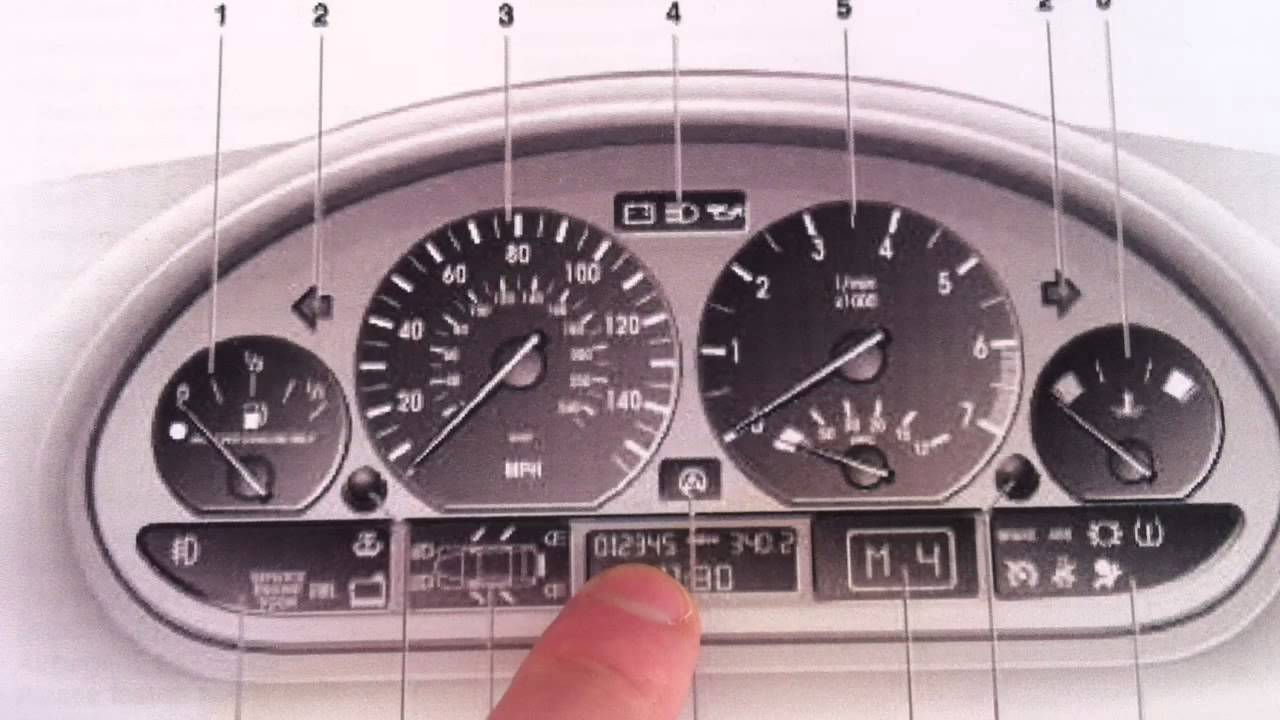BMW E46 3 series Mileage Reset or change - Use this kit