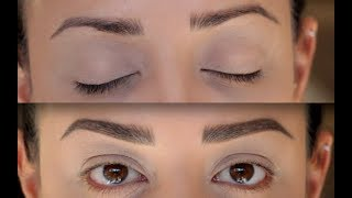 How to quick fix slightly over plucked brows-Eyebrow tutorial