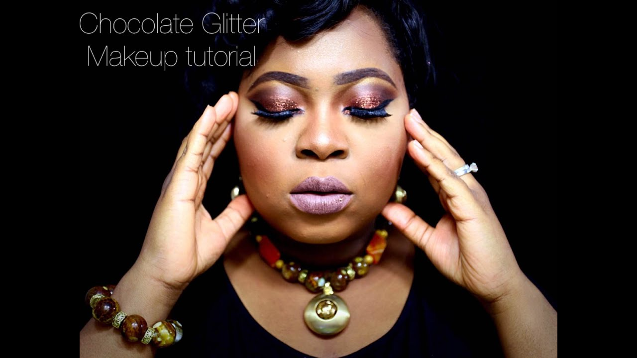 How To Apply Glitter Like A Pro Chocolate Glitter Makeup Tutorial, 2015   Youtube