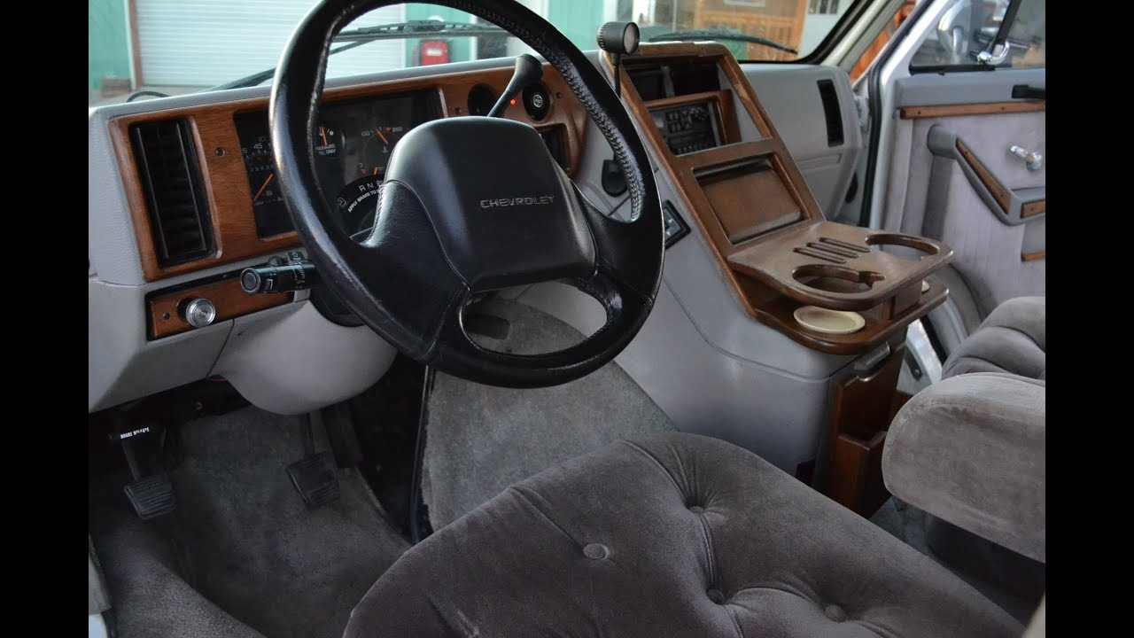 medium resolution of 1993 chevy g20 regency conversion van