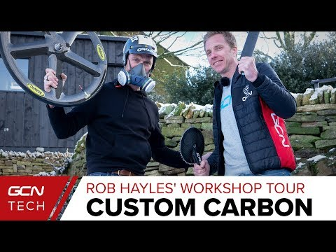 Home-Made Custom Carbon Bike Tech With Olympian Rob Hayles