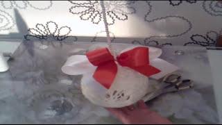 Сувенир подарок на Новый год(Лучший подарок своими руками. Сделайте новогодний сувенир подарок и подарите его друзьям или родственника..., 2015-12-23T23:34:33.000Z)