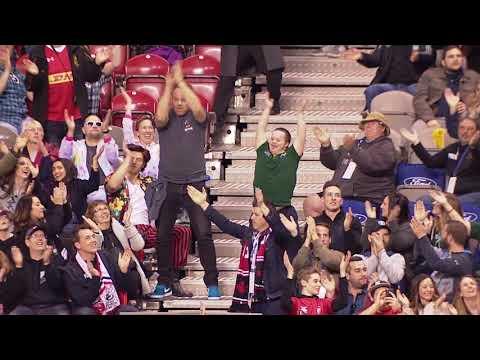 Fan's Incredible Dancing And Spirit Leaves Crowd In Awe!