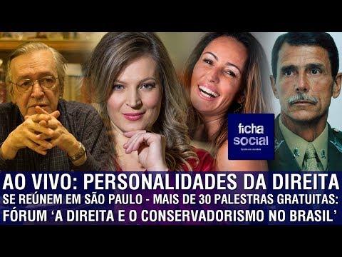 AO VIVO: PERSONALIDADES DA DIREITA SE REÚNEM EM SÃO PAULO - MAIS DE 30 PALESTRAS GRATUITAS