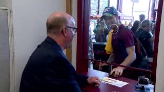 Jerry Kill Surprises Gopher Student Fans with Free Tickets