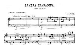 Suite española nº 2, Op. 97, IV: Zambra granadina - Albéniz