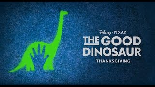 """1 hour of The Good Dinosaur trailer song """"Crystals"""""""