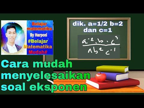 cara-mudah-menyelesaikan-soal-eksponen||matematika-kelas-x