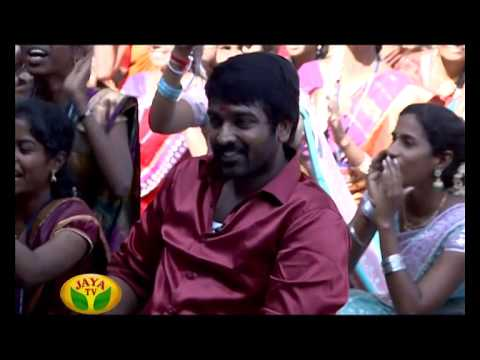 Vijay Sethupathi In Thithikkum Pongal - Pongal Special Program by Jaya Tv Travel Video