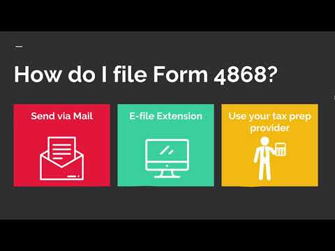 How to file tax filing extension