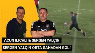 Sergen Yalçın , Acun Ilıcalı Halı Saha Futbol Maçı ! Orta Sahadan Harika Gol