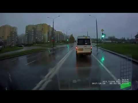 Пешеходы-камикадзе в Гродно в день автомобилиста