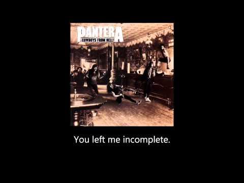 Pantera - Cemetery Gates (Lyrics)