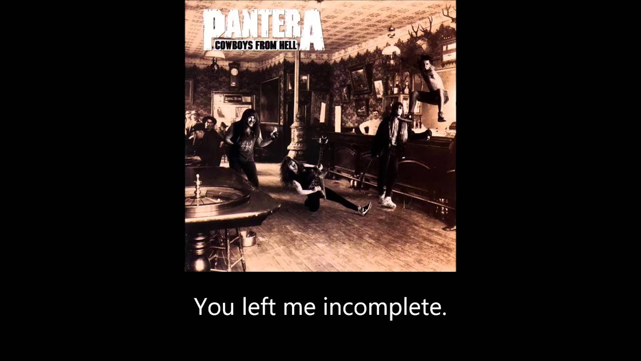 Pantera - Cemetery Gates (Chords) - Ultimate-Guitar.Com