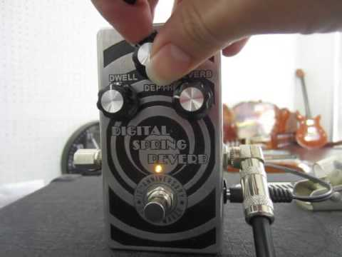 Review Guitar Effect Digital Spring Reverb By Wut Fxmaker