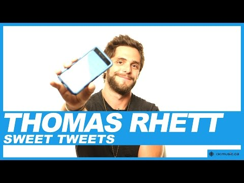 Thomas Rhett Reads Sweet Tweets