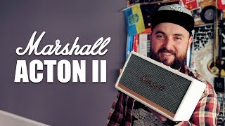 Обзор Marshall Acton II – самая компактная из колонок Marshall