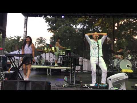 St. Lucia September LIVE at Chipotle Cultivate Festival