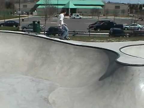 Riley Skate Park, Livonia Michigan, Friends Jon and Timmy