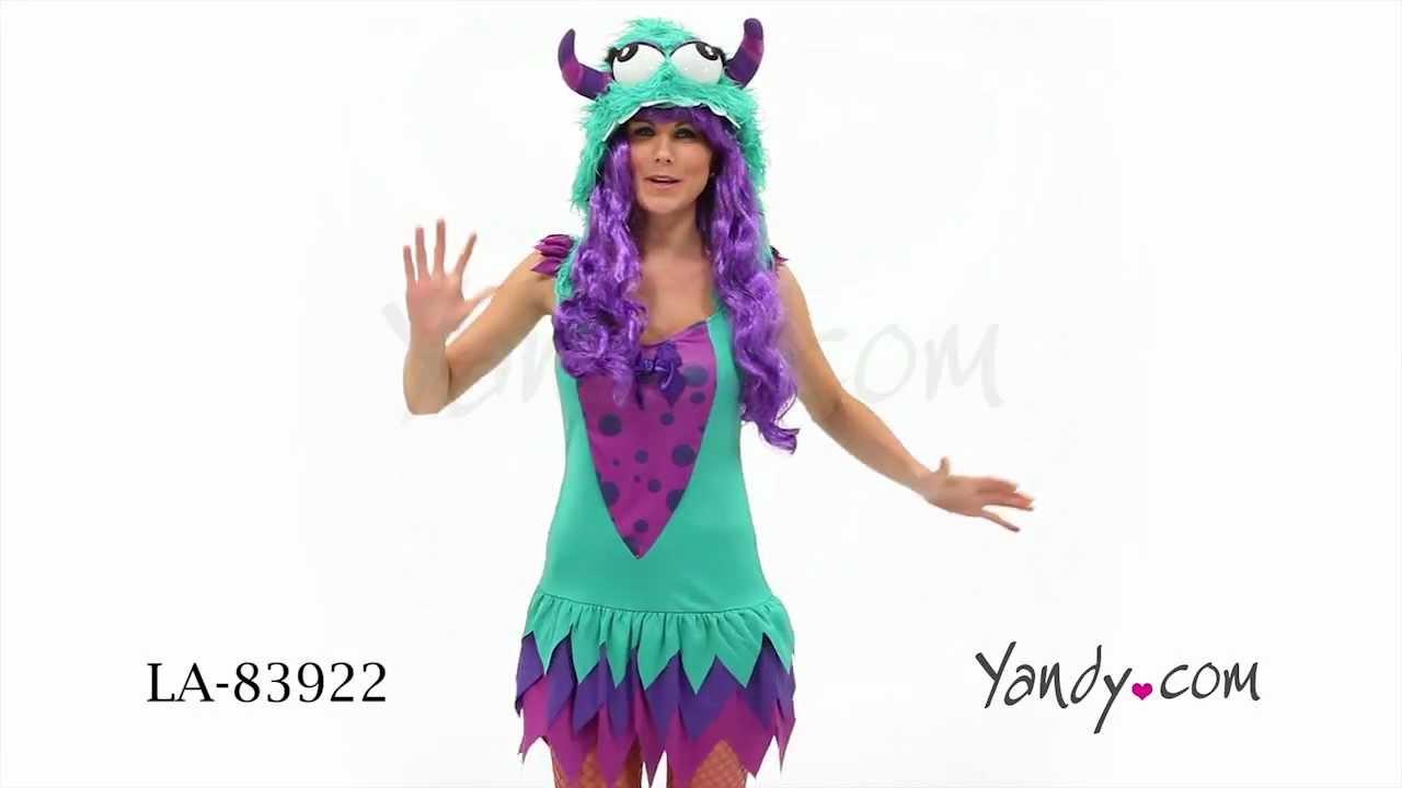 1c4cdb8bf34 Fuzzy Frankie Monster Costume