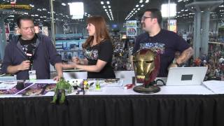 Frank Tieri Does His Best Agent M Impression and Talks His History at Marvel at NYCC 2014