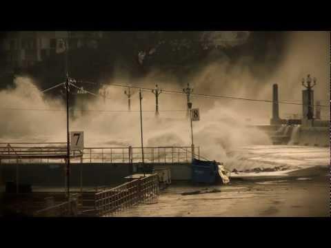 Storm & Ice. Шторм и лед в Ялте