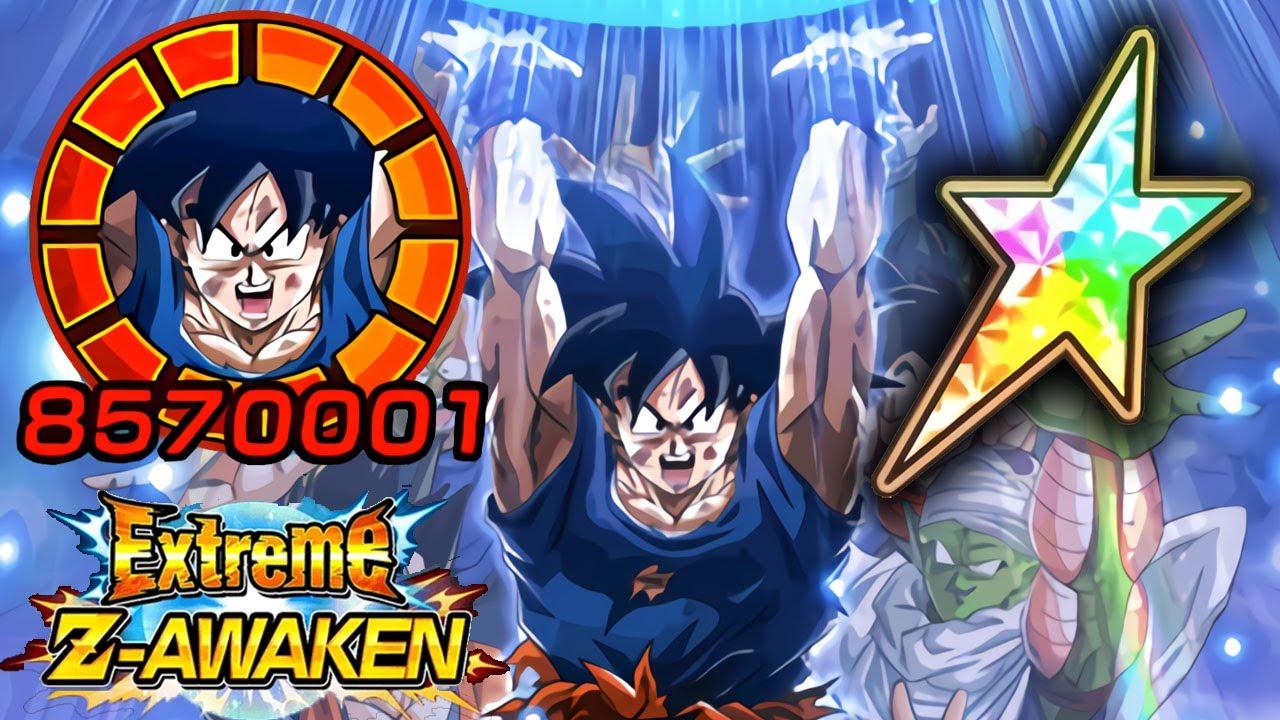 100 Potential System Eza 1000 Day Goku Showcase Dragon Ball Z Dokkan Battle Youtube