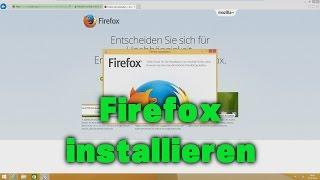 Firefox installieren unter Windows 8 / 8.1