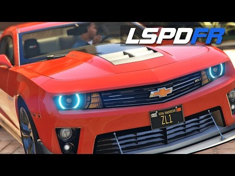 LSPDFR E153 - Chevrolet Camaro ZL1 | Chase Me