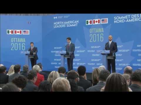 US, Canada, Mexico to Deepen Cooperation on Economy, Security, Environment