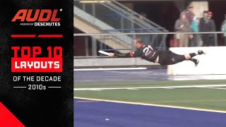 AUDL Top 10 Layouts Of The Decade (2012-2019)