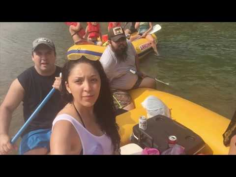 Illinois River, Tahlequah float trip 2017, Padilla´s Family