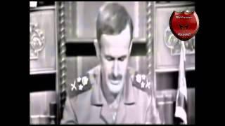 الرئيس حافظ الأسد والخائن أنور السادات