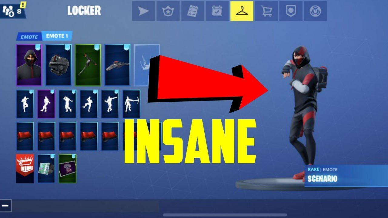 I Got Ikonik From A Fortnite Account Generator Youtube