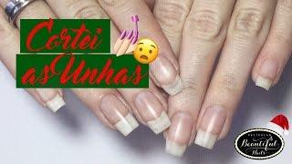 COMO L XAR AS UNHAS QUADRADAS  BASE BOMBA Beautiful Nails