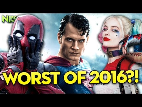 Worst Superhero Movie of 2016! - Razzie Nominations LEAKED?!