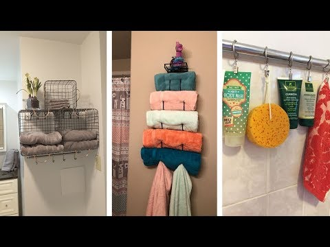 22 Super Clever Bathroom Storage Hacks