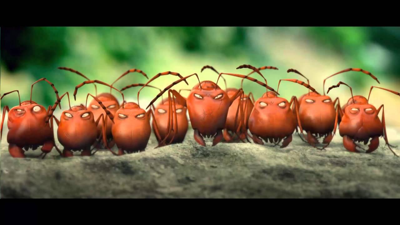 Minusculos O Vale Das Formigas Trailer Dobrado Youtube