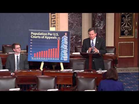 Sen. Dan Sullivan (R-AK) speaks on the Senate Floor with Sen. Steve Daines (R-MT), February 8, 2016