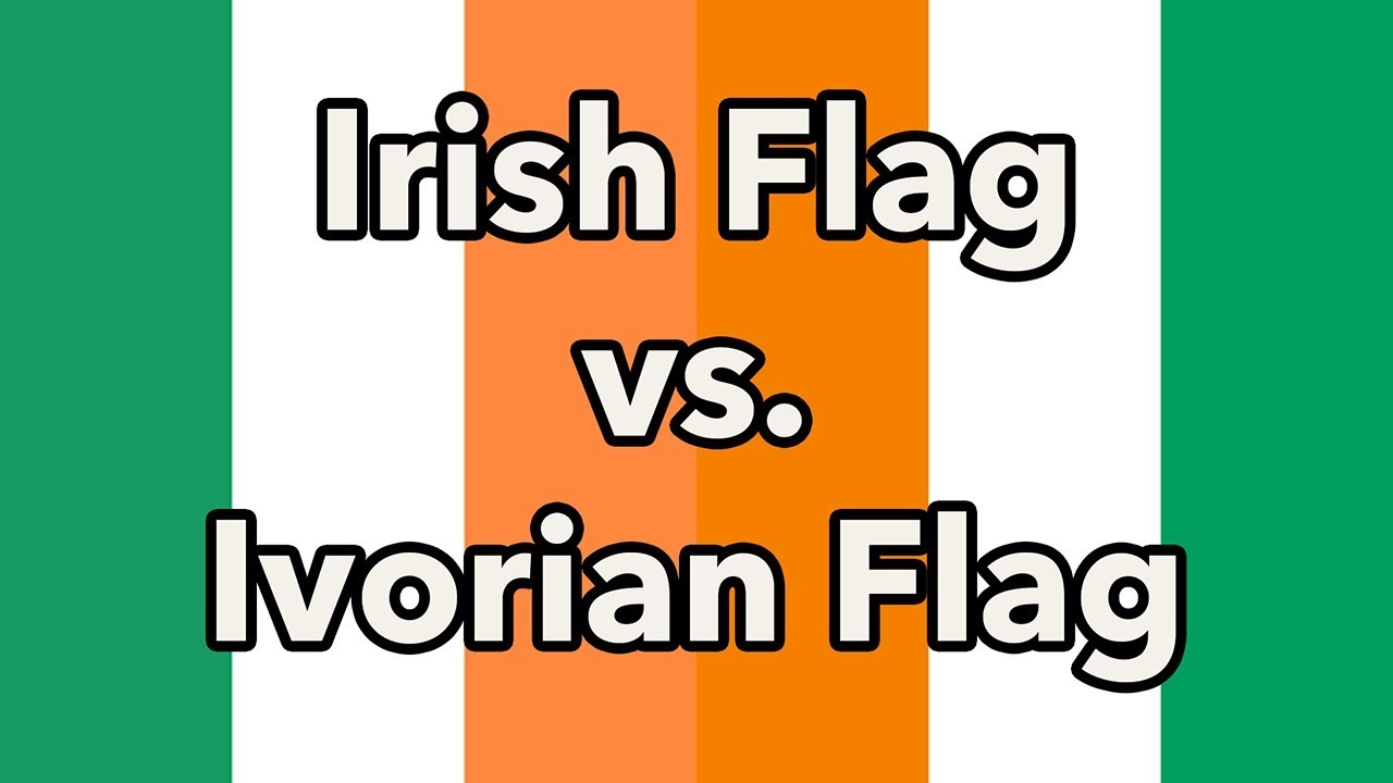 irish flag vs ivory coast flag which is better