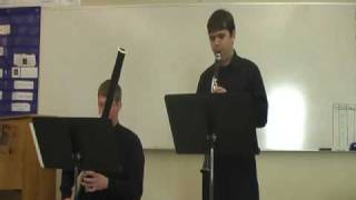3rd Duet for Clarinet and Bassoon by Beethoven