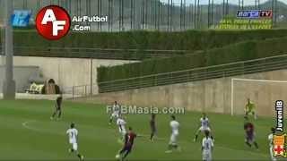 Munir El Haddadi vs Nástic | FCBMasia.com | AirFutbol.com