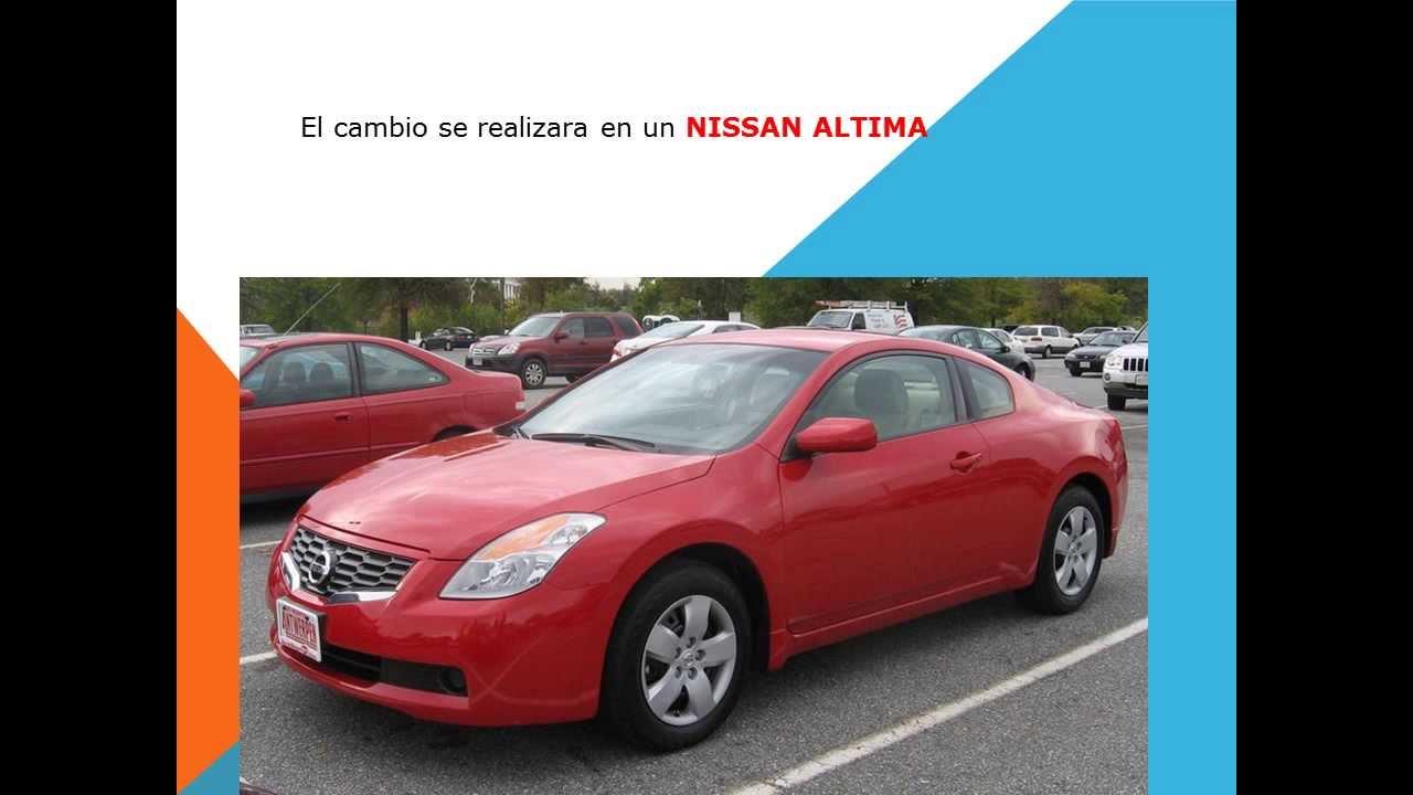 Nissan Altima Como Cambiar El Filtro De Cabina Youtube