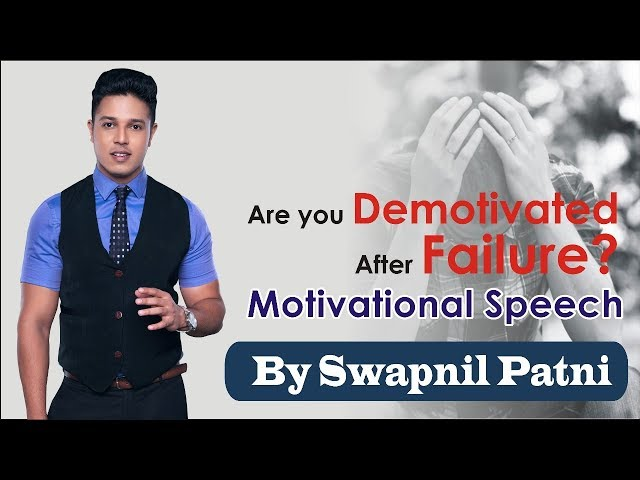 If You Have Not cleared in May 18 exam.. Must Watch !! Motivational Speech by CA Swapnil patni