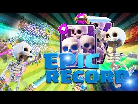 Clash Royale | RECORD DU MONDE de Squelettes / Skelettes